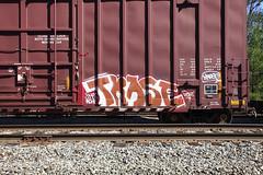 Trase (Voluntary Amputation) Tags: graffiti nh tags hobo rxr monikers benching
