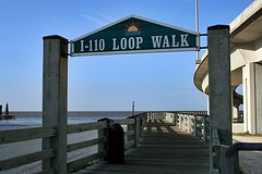 I-110 Loop Walk (gravescout) Tags: mississippi biloxi interchange highway90 i110 interstate110