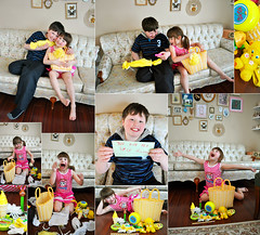 Auntie Shanon EFFING RULES!!!!!!! (boopsie.daisy) Tags: yellow kids angel wow easter children friend basket sister brother treats joy happiness gifts kindness omg goodies shanon generosity surprises selesnick santabunny shannybannany