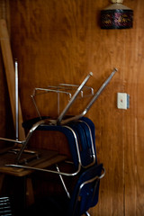 UndisclosedLocation-1 (Network Geek) Tags: desk urbanexploration schoolisout adventurestartsathome damnireallyhaveletmycluttergetthebetterofme