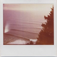 (daveotuttle) Tags: polaroid waves spectra expired softtone neahkahniemtn