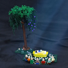 Snow White (Carson Hart) Tags: flowers plants white snow plant flower tree leaves rock forest carson happy photography leaf bed stem rocks lego princess dwarf sleep magic bricks 7 ground mini disney case sleepy seven tired short trunk hart coffin magical grumpy forests diorama dwarves bashful minifigure minifigures