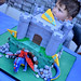 Castle/Dragon cake top