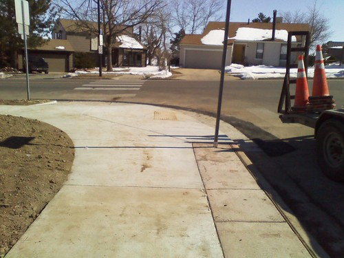 Photo - Gillaspie Drive Missing Sidewalk Link (Construction)