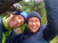 Michelle and I (Sam Beebe) Tags: beach oregon coast iphone oswaldweststatepark shortsands