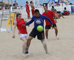 Sand Soccer 2012 (norfolkdistrict) Tags: competition tournament virginiabeach sandsoccer norfolkdistrict opsail2012 corpskickers internationalmilitarydivision