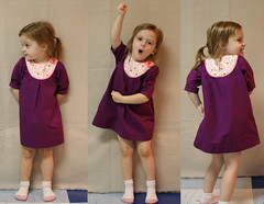 Lucy's Thanksgiving dress (Mle BB) Tags: thanksgiving flowers girl female kid clothing berry pattern oliver dress flat handmade embroidery buttons s clothes button littlegirl length piping sleeve 34 sewn playdate yoke ffa farfaraway pleat konacotton heatherross threequartersleeve kidclothes oliverands fabriclucy