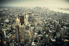 NYC (Danilo Fermata) Tags: city nyc urban usa evening manhattan empirestatebuilding samsungex1