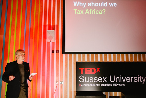 Mick Moore speaking at TEDxSussexUniversity 2012