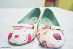 (midorinails) Tags: project shoes colorful cupcake kawaii 365 sapato lao sapatilha alicedisse