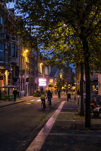 Leuven, Belgium @ Dusk and Night