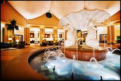 Dolphins in the Lobby (Jeff_B.) Tags: architecture modern hotel swan dolphin disney graves resort lobby disneyworld waltdisneyworld sheraton whimsical spg westing epcotresortarea