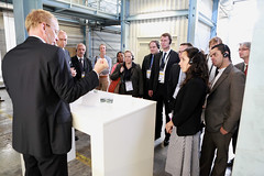 Goldschmidt-Thermit Plant technical tour begins