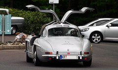 Mercedes 300 SL Gullwing (Street-Styler04 ) Tags: 1955 mercedes sl 300 2012 gullwing haltern nikkor70300 w198 classicrally nikond5000 marvintruchel
