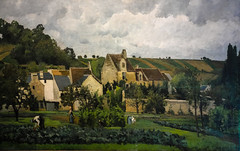 Camille Pissarro - L'Hermitage near Pontoise, 1867 at Wallraf-Richartz Museum Cologne Germany (mbell1975) Tags: art museum germany painting french deutschland gallery museu near cologne kln muse musee m impressionism museo camille koeln impression nordrheinwestfalen impressionist muzeum pissarro lhermitage mze wallrafrichartz richartz 1867 pontoise wallraf museumuseum
