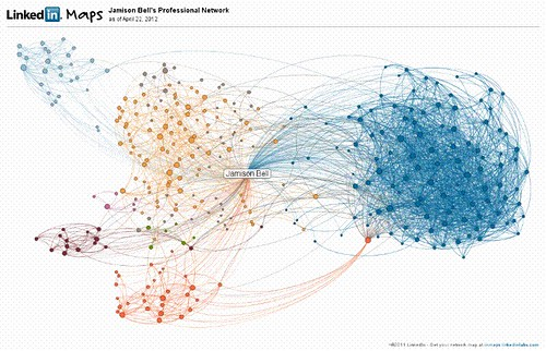 inMap of Jamison K. Bell from LinkedIn