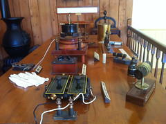 Telegraph machinery