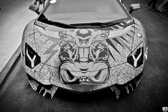 Big Bad Bull (Matthew Britton) Tags: auto city car matt nikon matthew rally fast images bull exotic chrome lp kansas 700 3000 lamborghini mb gumball britton lambo d300s aventador