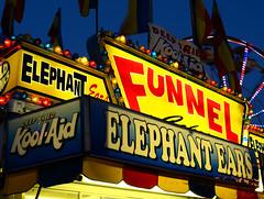 Deep Fried Kool-Aid & Elephant Ears (Christina Nalio) Tags: carnival lights asburypark rides jerseyshore