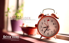Tricky Alarm Clock (Kelvin Wong (Away)) Tags: stilllife clock home warm dof time bokeh object kelvinwong sigma50mmf14 excapture canon5dmarkii