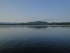 Sacandaga Lake, Adirondacks, NY (lotos_leo) Tags: travel summer lake reflection water landscape twilight outdoor adirondacks northamerica waterscape appalachianmountains sacandagalake moffittbeach