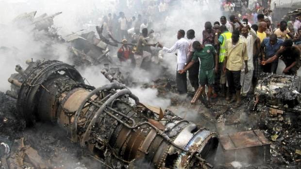 Reports indicate that 153 passengers were killed in a plane crash on June 3, 2012 in Lagos, Nigeria. It was a domestic flight from Abuja to Lagos. There were no survivors.