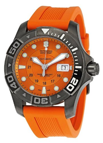 瑞士威氏军表Victorinox Swiss Army Men's 241354 Dive Master 500 Mecha Watch 潜水专家男士手表