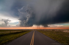 Storm Crossing (Matt Granz Photography) Tags: road storm oklahoma nature weather clouds landscape nikon head stormy tokina cumulus chase woodward 28 thunder chasing chaser severe storming d90 blueribbonwinner mattgranz 1116mm