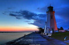 port dalhousie (Rex Montalban Photography) Tags: sunset lighthouse nikon niagara stcatharines hdr nationalgeographic portdalhousie hss d7000 rexmontalbanphotography sliderssunday