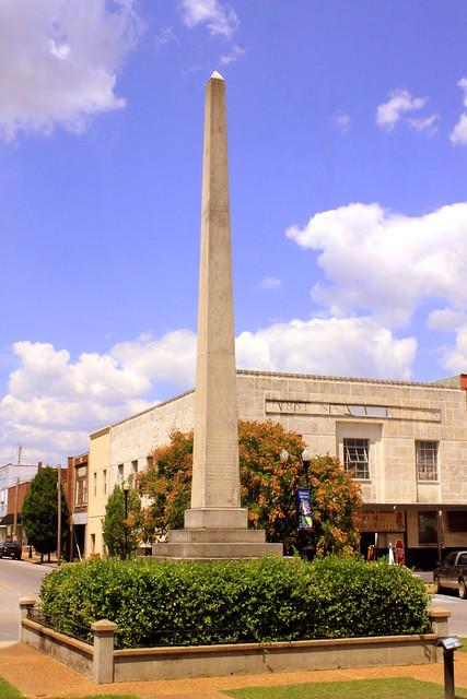 Lawrenceburg, TN Mexican War Monument
