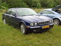 2003 Jaguar XJ 4.2 V8 (Davydutchy) Tags: show holland classic netherlands car june ride british jaguar saloon v8 friesland 2012 xj joure fryslân vroem