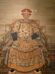 Portrait of the Kangxi Emperor (sftrajan) Tags: china portrait beijing muse monarch museo   peking emperor kangxi chineseart bijng chinesehistory   nationalmuseumofchina     zhnggugujibwgun chinesischesnationalmuseum  musenationaldechine