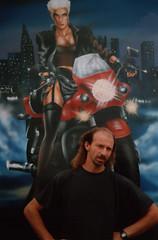 lpark02 (kezoairbrush) Tags: park art bike rock painting cool artwork tank mask guitar bikes luna snowboard tuning airbrush bycicles aerografo parafango aerografia carena