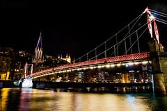 Lyon de nuit (Alxmtp13) Tags: france lyon pont nuit vieux rhone nocture