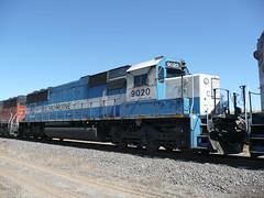 EMD Leasing SD60 9020 near Sedalia, CO (trains_gg1) Tags: railroad trains sd60 emdsd60 emd9020