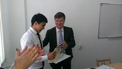 "Uručivanje sertifikata studentima master i doktorskih studija u Kazahstanu <a style=""margin-left:10px; font-size:0.8em;"" href=""https://www.flickr.com/photos/89847229@N08/13904267426/"" target=""_blank"">@flickr</a>"