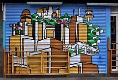 HH-Graffiti 1953 (cmdpirx) Tags: street urban color colour art public up painting fun graffiti paint artist space raum character kunst strasse tag hamburg humor can spray crew vandalism letter hh hip hop aerosol tagging farbe bombing throw künstler fatcap öffentlicher