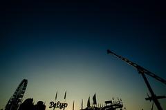 Good Morning // Explore // Apr 24 '14 (donlunzo16) Tags: city morning sky colour film festival lens lights early spring nikon df raw nef stuttgart grain pack 20mm manual nikkor f28 ai attractions lightroom wasen cannstatter preset vsco