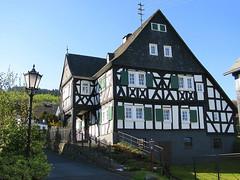 Alsdorf/Westerwald (willi.kampf) Tags: wanderung fachwerk westerwald fachwerkhaus alsdorf siegsteig alsdorfwesterwald httenschulzehaus alsdorferhttenschulzehaus