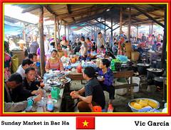 Sunday Market in Bac Ha (vicbrasil) Tags: people market sunday vietnam hanoi sapa hilltribe cuong hoalu bacha northeastregion northwestregion redriverdeltaregion