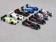 Le Mans 2012 (// PROTOTYP) Tags: lego lola toyota rebellion audi lemans r18 pescarolo tinyturbos legoracers ts030 legolemans