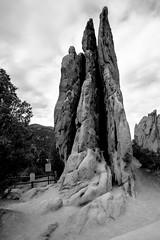 The Three Graces (leehobbi) Tags: blackandwhite bw monochrome rock canon landscape three colorado gardenofthegods monochromatic coloradosprings graces