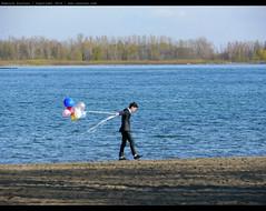 HAPPY DAY :) (vanKuso (Dominik Starosz)) Tags: wedding toronto canada water balloons lakeontario happyday