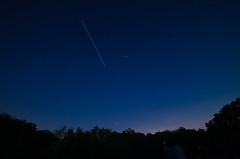 ISS Flyover (Mike Seigafuse) Tags: stars science iss starparty flickrfriday