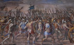Battle Scene (Keith Mac Uidhir  (Thanks for 3.5m views)) Tags: city italien italy rome roma italia itali rom italie itlia itali  italya   rzym wochy    itlie     olaszorszg rma m