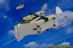 AVISPA IP-NU3V3 (F@bz) Tags: sf lego space spaceship fi sci moc starfighter