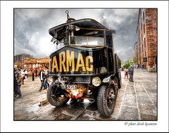 TRACTOR (Derek Hyamson) Tags: tractor liverpool candid steam hdr albertdock