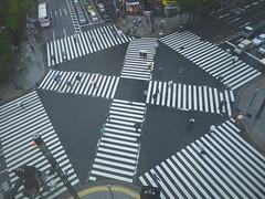 crossroad_P1590643 (strange_hair) Tags: street rain japan tokyo ginza cross crossroad