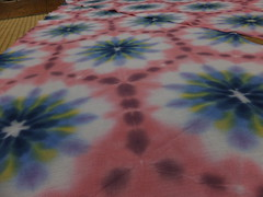 itajime shibori psychedelica landscape (asiadyer) Tags: japan japanese symmetry textile sacred tiedye dye dyeing psychedelic dyed shibori psychedelica sacredgeometry sarashi japanetsy shiboripsychedelic