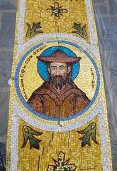 2016-05 Mosaics Phase XI Installation IMG_0779 (Greek Orthodox Church of the Holy Cross) Tags: california church greek us belmont mosaic orthodox iconography tonelli